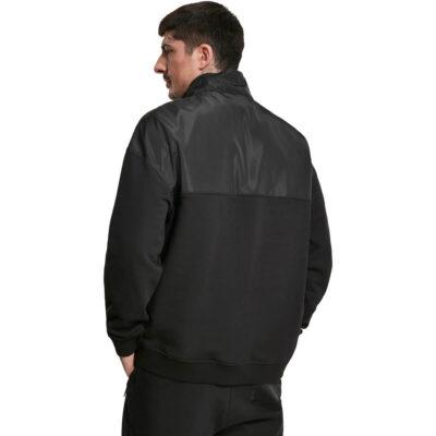 Bluza Urban Classics Military Troyer Black 1
