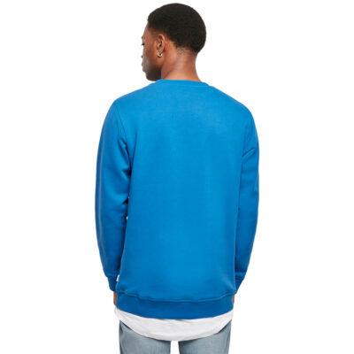 Bluza Urban Classics Organic Basic Crew Sporty Blue 1