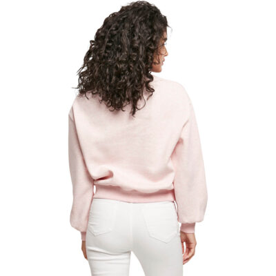 Bluza Urban Classics Oversized Color Melange Pink 1