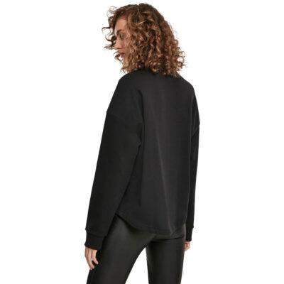 Bluza Urban Classics Oversized High Neck Black 1