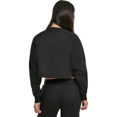 Bluza Urban Classics Oversized Short Raglan Black 1