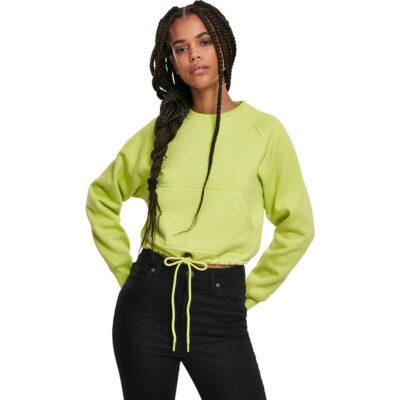 Bluza Urban Classics Oversized Short Raglan Frozen Yellow
