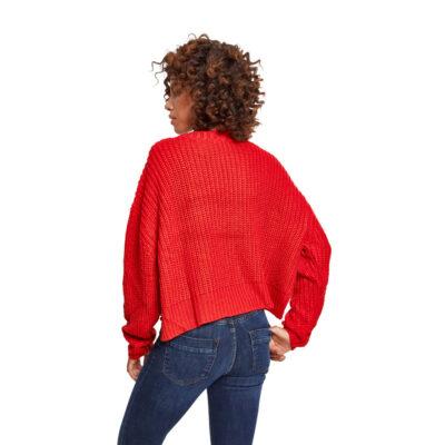 Bluza Urban Classics Wide Oversize Fire Red 1