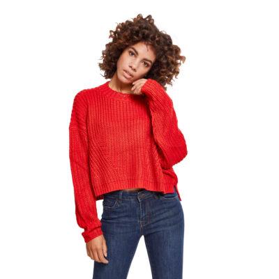 Bluza Urban Classics Wide Oversize Fire Red