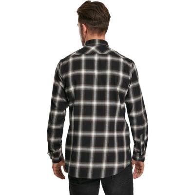 Camasa Urban Classics Checked Flanell Black 2