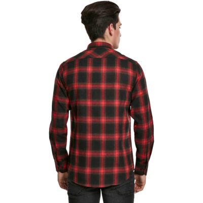 Camasa Urban Classics Checked Flanell Red 1