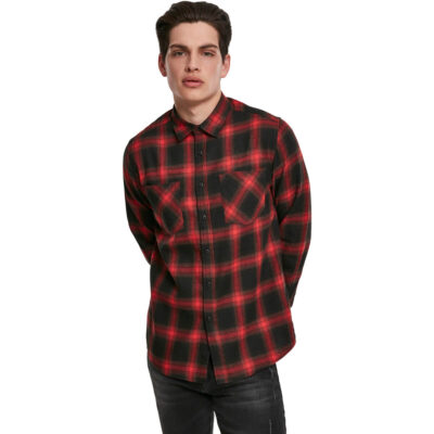 Camasa Urban Classics Checked Flanell Red