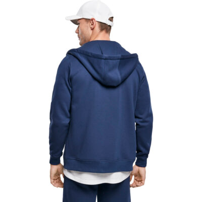 Hanorac Urban Classics Basic Terry Zip Blue 1