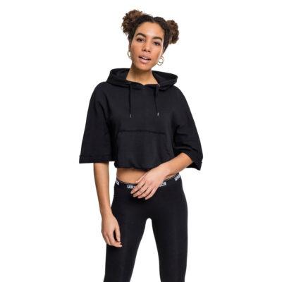 Hanorac Urban Classics Cropped Hooded Poncho