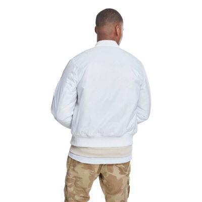 Jacheta Urban Classics Basic Bomber White