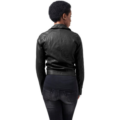Jacheta Urban Classics Leather Imitation Biker 1