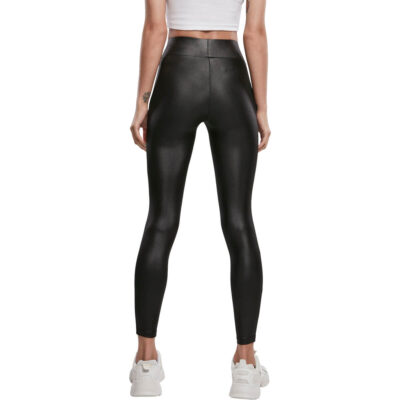 Leggings Urban Classics Imitation Leather Black 1