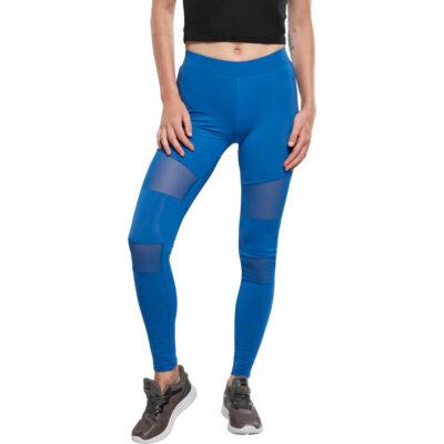 Leggings Urban Classics Tech Mesh Blue
