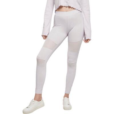 Leggings Urban Classics Tech Mesh White