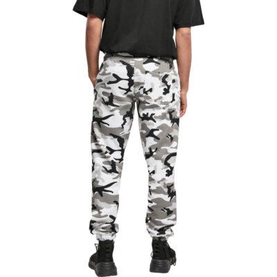 Pantaloni Urban Classics Basic Camo 2.0 Snow 1