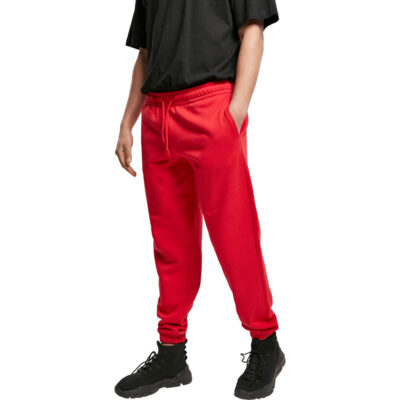 Pantaloni Urban Classics Basic Sweatpants 2.0 Red