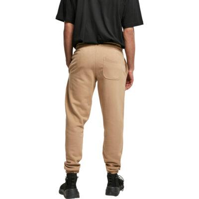 Pantaloni Urban Classics Basic Sweatpants 2.0 Sand 1