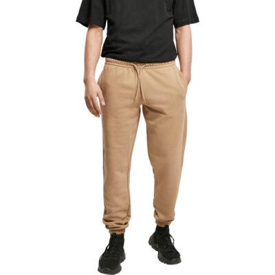 Pantaloni Urban Classics Basic Sweatpants 2.0 Sand