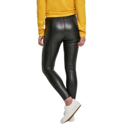 Pantaloni Urban Classics Faux Leather Skinny 1