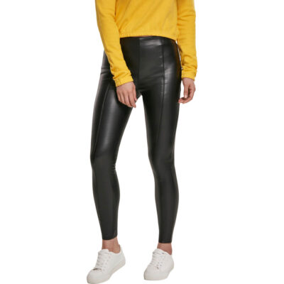 Pantaloni Urban Classics Faux Leather Skinny