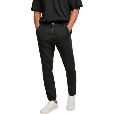 Pantaloni Urban Classics Knitted Chino Denim