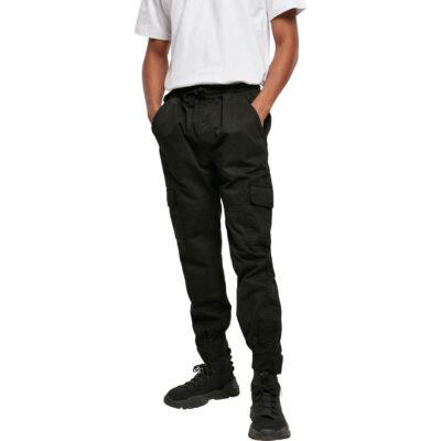 Pantaloni Urban Classics Military Jogg Black