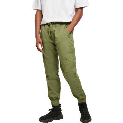Pantaloni Urban Classics Military Jogg Newolive
