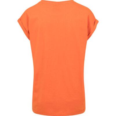Tricou Urban Classics Extended Shoulder Orange 1