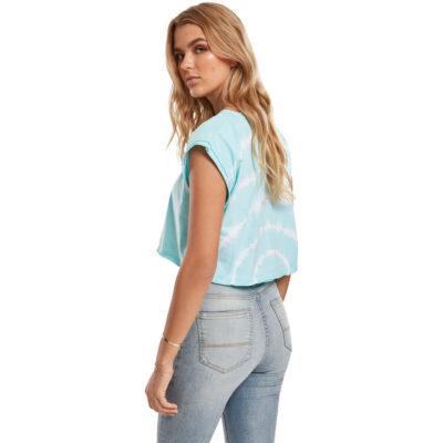 Tricou Urban Classics Short Tie Dye Aqua Blue 1