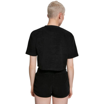 Tricou Urban Classics Short Towel Black