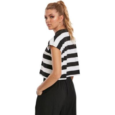 Tricou Urban Classics Stripe Short 1