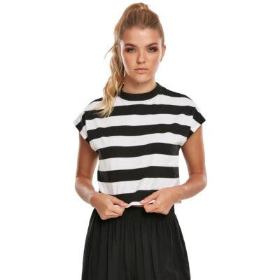 Tricou Urban Classics Stripe Short