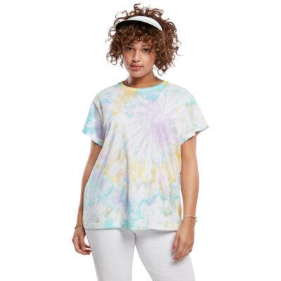 Tricou Urban Classics Tie Dye Boyfriend Pastel 3