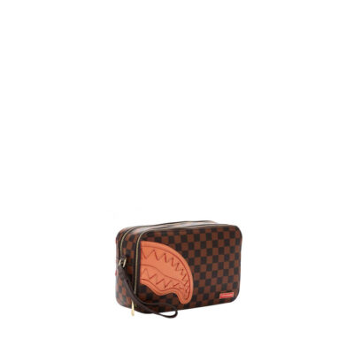 Toiletry Bag Brown Henny Square 1
