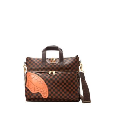 Travel Case Sprayground Brown Henny