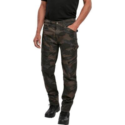 Pantaloni Brandit Adven Slim Fit Cargo Dark Camo