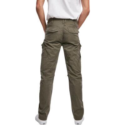 Pantaloni Brandit Adven Slim Fit Cargo Olive 1