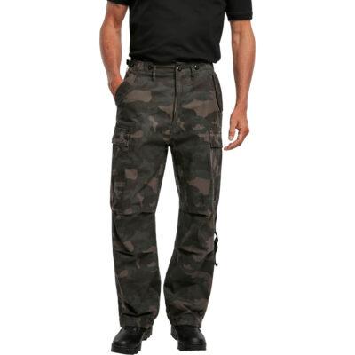 Pantaloni Brandit M-65 Vintage Cargo Dark Camo 3