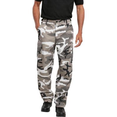 Pantaloni Brandit Thermal US Ranger Cargo Snow Camo