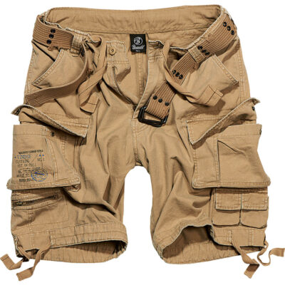 Pantaloni scurti Brandit Savage Vintage Cargo Beige 4