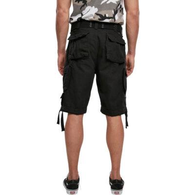 Pantaloni scurti Brandit Savage Vintage Cargo Black 1