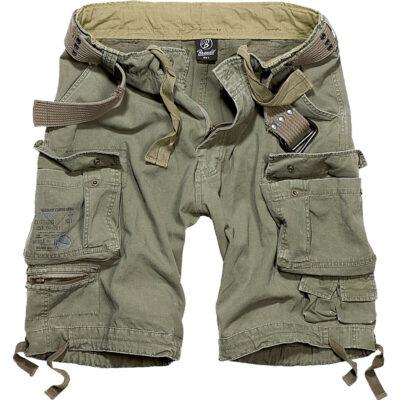 Pantaloni scurti Brandit Savage Vintage Cargo Olive 5