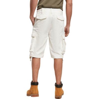 Pantaloni scurti Brandit Vintage Cargo White 1