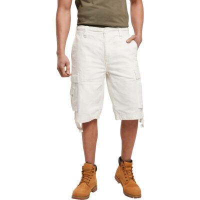 Pantaloni scurti Brandit Vintage Cargo White