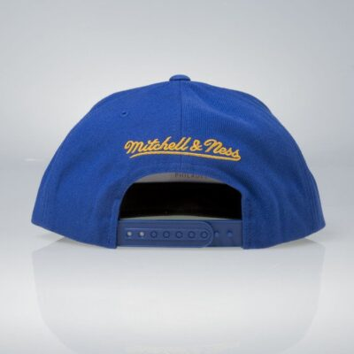 Sapca Mitchell & Ness snapback Golden State Warriors blue Wool Solid 1