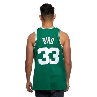 Swingman Jersey Mitchell & Ness Boston Celtics #33 Larry Bird green 1