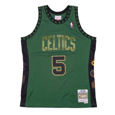 Swingman Jersey Mitchell & Ness Boston Celtics #5 Kevin Garnett green_1