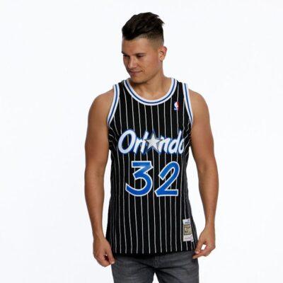 Swingman Jersey Mitchell & Ness Orlando Magic #32 Shaquille O'Neal black
