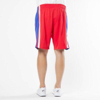 Swingman Short Mitchell & Ness Philadelphia 76ers red-royal 1
