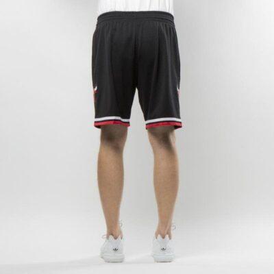 Swingman Shorts Mitchell & Ness Chicago Bulls Black 1